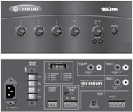 60 Watt Amplifier with 4-CHANNEL Mixer