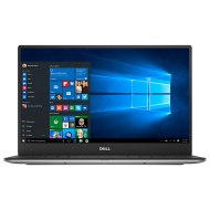 "Dell XPS 13 Notebook, Intel Core i7, 16GB RAM, 512GB, 13"" QHD Touch Screen, 7th Gen, Silver"