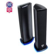 Professional GG-SONAWAVE-TI 2.0 Speaker System - 11 W RMS (135 Hz - 20 kHz - USB)