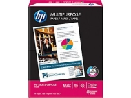 """HP Multipurpose Paper, 8 1/2"""" x 11"""", 3-HOLE PUNCHED, Ream"""