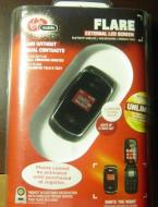 Virgin Mobile Flare External LCD Bluetooth Wireless Mobile Cell Phone No Annual Contract