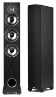 Polk Audio Monitor 65T Three-Way Ported Floorstanding Speaker (Single, Black)