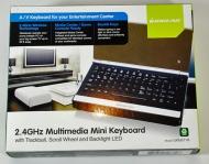IOGEAR 2.4GHz Wireless Multimedia Keyboard/Mouse Combo GKM541R
