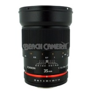 Rokinon 35mm f/1.4 Wide-Angle US UMC Aspherical Lens for Canon