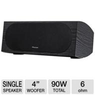 "Pioneer - Andrew Jones 4"" 2-Way Add-On Speakers (Pair) - Black SP-T22A-LR § SP-T22A-LR"