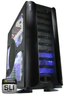 Thermaltake Xaser Armor VA8000BWS - Tower - extended ATX - no power supply - black