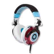 EarPollution EP-MG-BLU/RED Mogul Headphones - Blue/Red