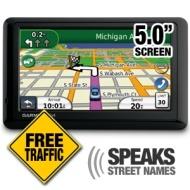 Garmin nvi 1450LMT 5-Inch Portable GPS Navigator with Lifetime Map & Traffic Updates