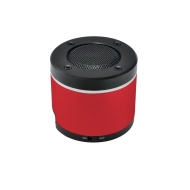 Gear Head BT3000RED Portable Bluetooth Speaker for iPad/iPhone/iPod, Red/Black