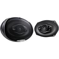 "Kenwood KFC-C1655S 6-1/2"" Sport Series 2-Way Flush Mount Coaxial Car Speakers"
