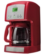 Kenmore 12-Cup Programmable Coffee Maker - Red
