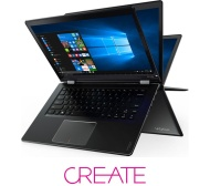 "LENOVO YOGA 510 14"" 2 in 1 - Black"