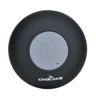 KINGLAKE® New Waterproof Wireless Bluetooth Shower Speaker Handsfree Speakerphone Compatible with All Bluetooth Devices Iphone 5s and All Android Devi