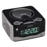 RCA RP5610 - CD clock radio - silver