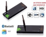 OEM Natural CX-919 Quad Core RK3188 Bluetooth Android 4.1.1 Mini Google PC TV Box 1G/8G BT/HDMI, Black