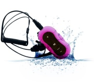 Aerb® 4G Waterproof MP3 Music Player for Swimming & other Sports (IPX-8 Standard) (Pink)