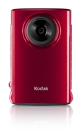 Kodak Mini Video Camera with SD Card (Red)