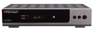 Opticum HD AX 300 HDTV-Satellitenreceiver (Full HD 1080p, HDMI, USB, S/PDIF Coaxial, Scart) silber