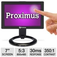 """Proximus 7"""" Class Widescreen Touch Screen Monitor"""