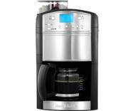 Russell Hobbs Platinum Grind And Brew 14899 Filter Coffee Machine with Timer - Black / Brushed Steel