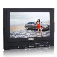 """LILLIPUT 5DII-HO 1080p 7"""" TFT LCD DSLR Camera Monitor HDMI Out +Shoe Mount For Canon 5D II and Any other Cameras With HDMI Port And Battery Plate (F97"""