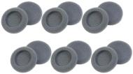 Plantronics (15729-05) 6-Pairs Replacement Foam Earpieces for Earset/Headset: H51, H51N, H61, H61N, H91, H91N, H101, H101N, SP04, SP05, PLX400, PLX500