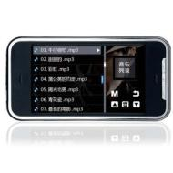 "New 8GB 3"" screen Touch Screen MP5 MP4 Mp3 GAME + support micro SD card to extend+ MIC and FM recording function"