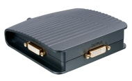 HQ AVSWITCH-10 Commutatore, 2 Porte DVI HQ