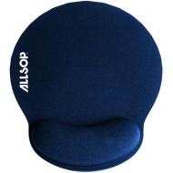Allsop 30206 Memory Foam Mouse Pad, Blue