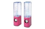 Ednet 83043 Waterbeats USB Speaker for PC - Pink