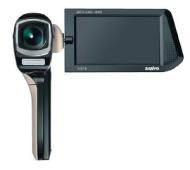 Sanyo - Xacti CG10 - Caméscope Numérique HD + Appareil photo - 10 Mpix - Zoom optique 5x - Microphone - Noir