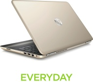 "HP Pavilion 15-au179sa 15.6"" Laptop - Gold"