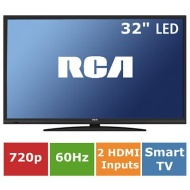 "RCA LRK32G30RQD 32"" 720p 60Hz LED HDTV/DVD Combo with ROKU Streaming"