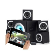 Sumvision Vcube 5.1 Surround Sound Home Theatre Speakers System- Speakers + Subwoofer With Bluetooth Perfect For PC Gaming Laptop Android Tables Ipads