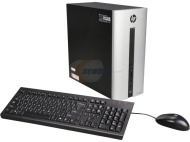HP - Pavilion Desktop - AMD A8-Series - 8GB Memory - 1TB Hard Drive - Natural Silver 550-a114 § 550-a114