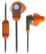 Yurbuds Adventure Series Venture Talk In-Ear Earphones with 1-Button Mic and Remote - Burnt Orange/Grey