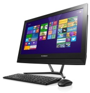 Lenovo C50 23-Inch HD All-in-One Desktop PC (Intel Core i5-5200U 2.2 GHz, 8 GB RAM, 1 TB HDD, DVD-RW, WLAN, Bluetooth, Camera, Nvidia Geforce 820A 2G