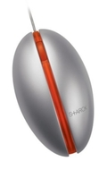 Microsoft Optical Mouse by Starck Orange - Mouse - optical - 2 button(s) - wired - USB - orange
