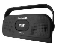 """""""Pyle PBTW20BK Surf Sound 2-In-1 Waterproof Wireless Bluetooth Stereo Speaker and Microphone for Call Answering, Black"""""""