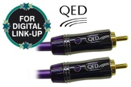 QED Performance Digital Coaxial Audio Cable 1m