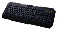 Perixx PX-2000, Programmable Backlit Gaming Keyboard - USB - 6 Macro Keys with 3 User Profile - Blue Illuminated Backlit Keys - Windows & Desktop Lock