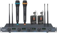 PylePro PDWM7300 Wireless Microphone System  480 MHz to 560 MHz System Frequency  pdwm7300