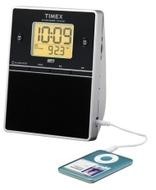 Timex Clock Radio w/ Dual Alarm and 12 Radio Presets - Silver ( T312S )
