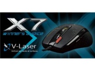 A4Tech X7 F5 V-Track Laser USB Gaming Mouse (Black)                                        A4Tech X7 F5 V-Track Laser USB Gaming Mouse (Black)
