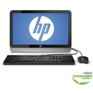 "HP Black 19-2113w All-In-One Desktop PC with Intel Celeron J1800 Processor, 4GB Memory, 19.45"" HD+ Monitor, 500GB Hard Drive and Windows 8.1"