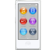 APPLE iPod nano - 16 GB, 7th Generation, White & Silver