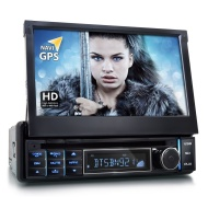XOMAX XM-DTSBN921 Autoradio / Moniceiver / Naviceiver con navigatore GPS + Software Mapfactor Pocket Navigator 14 + Funzione vivavoce Bluetooth con im