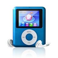 Lonve 8GB Blue MP4/MP3 Player 1.8'' Screen (3TH Gen) MP4 Music/Audio/Media Player with FM Radio