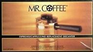 Mr. Coffee Espresso Carafe Assembly w/ Lid, Black 4 Cup