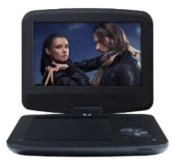 Odys Furo tragbarer DVD Player mit 22,9 cm (9 Zoll) drehbarem Display (hochauflösendes digitales TFT-Display (800x480 Pixel), SD-Card Slot, USB 2.0) s